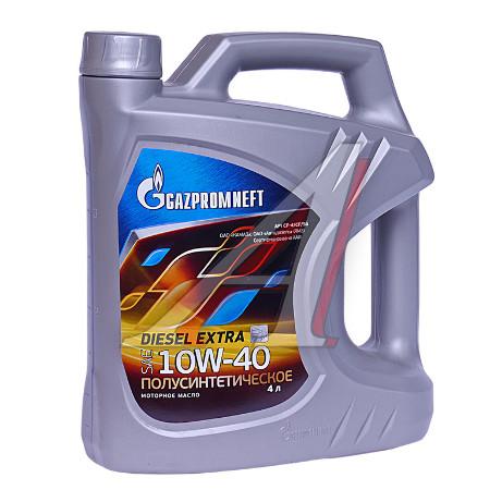 Gazpromneft Diesel Extra,10w-40, CF-4/CF/SG, полусинтетика, 5л, Россия