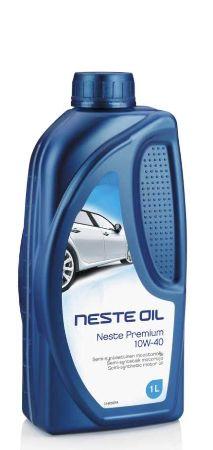 Neste, Premium, 10W-40,  полусинтетика, 1л, Финляндия