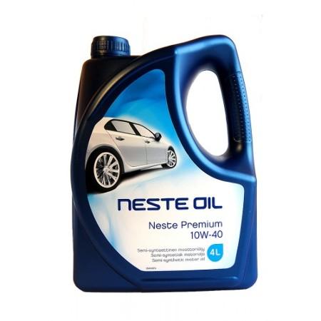 Neste, Premium, 10W-40,  полусинтетика, 4л, Финляндия