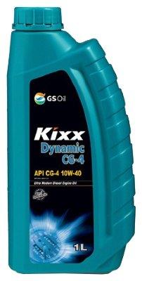 Kixx HD (DYNAMIC), DIESEL, 10W40, CG-4,  полусинтетика, 1л, Корея