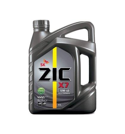 ZIC X7 Diesel , 10W40, CI-4/SL, синтетика, 4л, Корея
