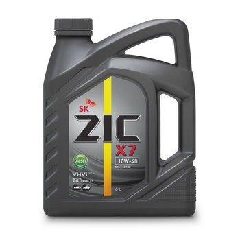 ZIC X7 Diesel , 10W40, CI-4/SL, синтетика, 6л, Корея
