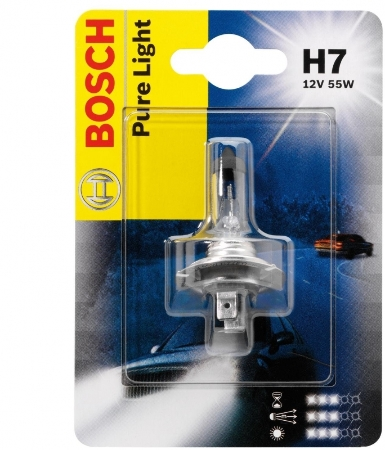 Bosh, Лампа 12V H7 Pure Light