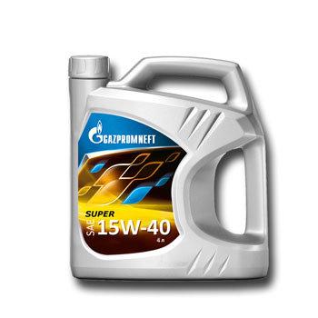 Gazpromneft Super, 15W-40, SG/CD,  4л, Россия
