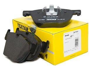 Тормозные колодки, TEXTAR,дисковые,2454501, MAZDA, Германия