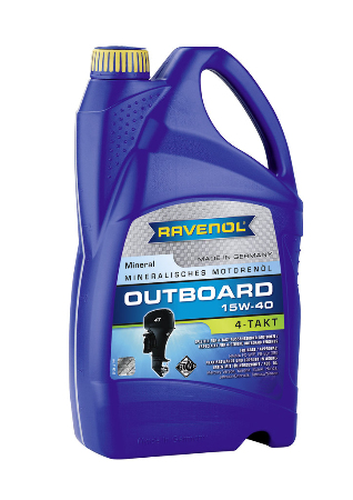 Ravenol Outboard 2T Teilsynth, ,для 2-хтактных, полусинтетика,5л, Германия