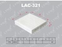 LYNX,  фильтр салонный, LAC-321/АС-3501, Япония