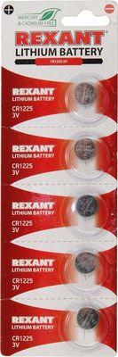 Rexant 3V, 48 mAh, литиевая батарейка, в блистере 1шт