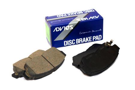 ADVICS, тормозные колодки дисковые, SN555P/PF 2226, Япония