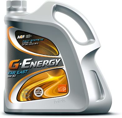 G-Energy  Far East, 5w-30, SN/ILSAC GF-5,  синтетика, 4л, Италия