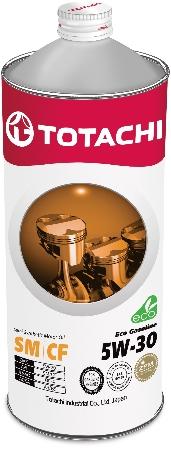 TOTACHI Eco Gasoline,5W-30, SN/CF,  полусинтетика, 1л, Япония