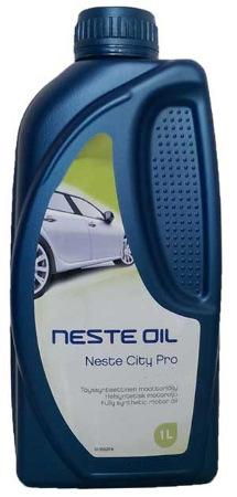 Neste, City Pro, 5W-40 SN/CF,  синтетика, 1л, Финляндия