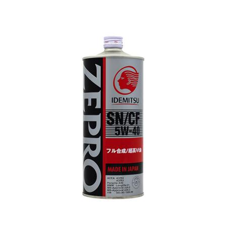 IDEMITSU  ID ZEPRO EURO SPEC F-S, SN/CF, 5w-40,  синтетика, 1л, Япония
