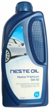 Neste, Premium, 5W-40,  полусинтетика, 1л, Финляндия