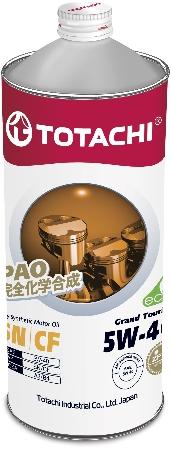 TOTACHI Grand Touring, 5W-40, SN,  синтетика, 1л, Япония