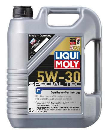 LIQUI MOLY Special Tec F(Leichtlauf Cpecial F), 5W/30, синтетика, 5л, Германия