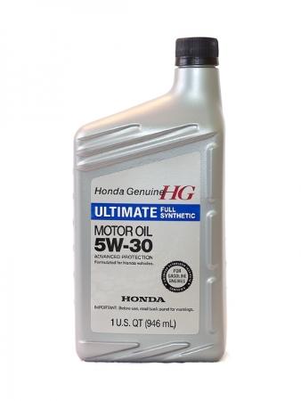 Honda Ultimate Full Synthetic, 5W30, SN,  синтетика, 0,946л, Япония