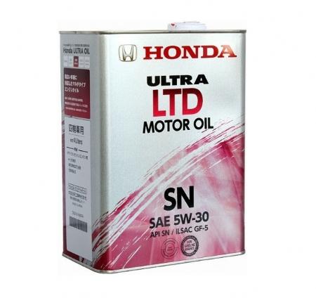 Honda Ultra LTD, 5W30, SN/GF-5,  минеральное, 4л, Япония