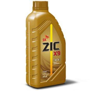 ZIC Х9, 5W30, SL/CF,  моторное масло, синтетика, 1л, Корея