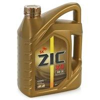 ZIC Х9, 5W30, SL/CF, моторное масло, синтетика, 4л, Корея