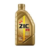 ZIC Х9, LS 5W40, SN/CF, моторное масло, синтетика, 1л, Корея