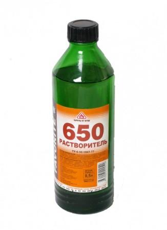 650 Растворитель  0.475л