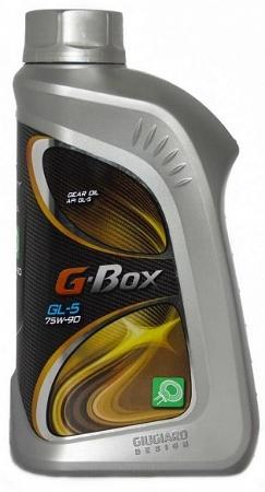 G-Energy G-BOX EXPERT, 75w-90, GL-5, трансмиссионное, полусинтетика, 1л, Россия