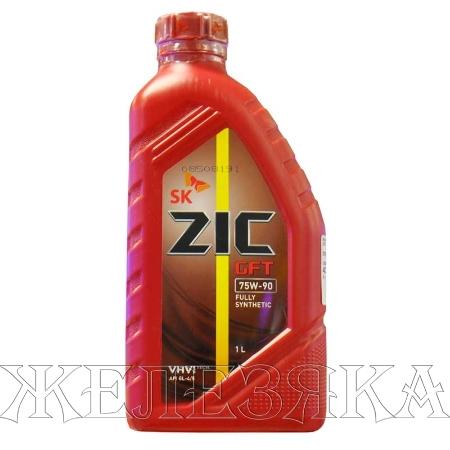 ZIC GFT 75W90 API GL-4/5, трансмиссионное масло, синтетика, 1л, Корея
