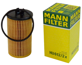 MANN, Фильтр масляный, HU 612/2x, Германия