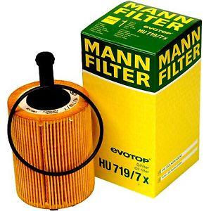 MANN, Фильтр масляный, HU719/7x, Германия