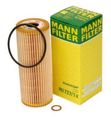 MANN, Фильтр масляный, HU727/1 Х, Германия