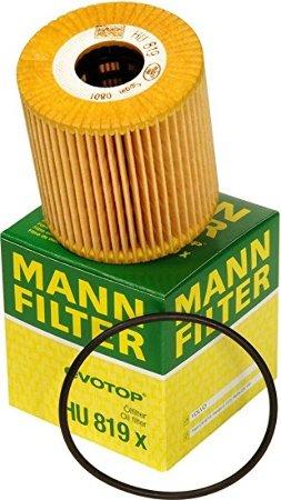 MANN, Фильтр масляный, HU819Х/LO-1604, Германия