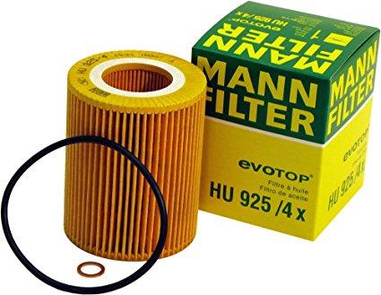 MANN, Фильтр масляный, HU925/4x, Германия