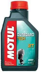 МOTUL Outboard TECH 2Т, для 2-хтактных, 1л, Франция