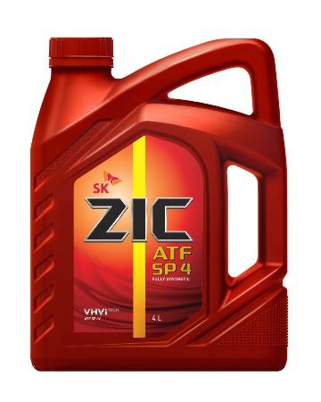 ZIC  ATF SP-4, трансмиссионное масло,4л, Корея