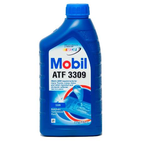 Mobil ATF 3309, масло для АКПП, синтетика,  0,946мл