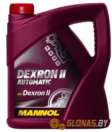 Mannol, Dexron II D, транс. жидкость ATF, 4л