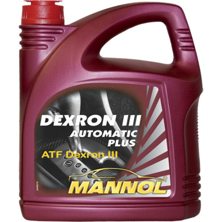 Mannol, Dexron III D, транс. жидкость ATF, 4л