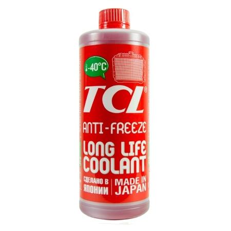 Антифриз, ТCL LLC -50C, красный, охлаждающая жидкость,1л, Япония