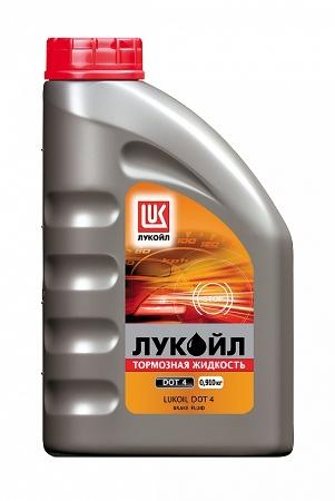 Лукойл, Тормозная жидкость, DOT 4, 0,910кг, Россия