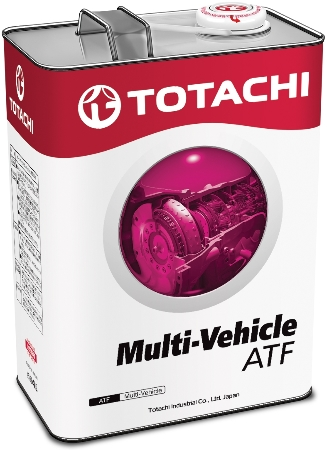 TOTACHI ATF MULTI-VECHICLE, масло для АКПП, синтетика, 4л, Япония