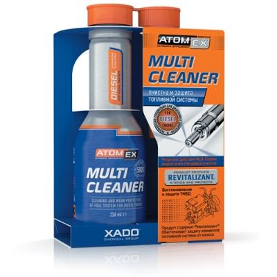 Хадо, Atomex Multi Cleaner, эффективный очиститель топливной системы дизельного двигателя, 250мл.