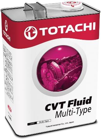 TOTACHI ATF CVT Fluid MULTI-TYPE, масло для вариаторов, синтетика, 4л, Япония