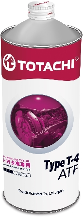 TOTACHI ATF TYPE T-IV, масло для АКПП, синтетика, 1л, Япония
