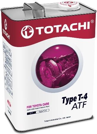 TOTACHI ATF TYPE T-IV, масло для АКПП, синтетика, 4л, Япония