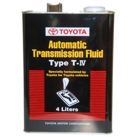Toyota ATF type T-IV, масло для АКПП, синтетика, 4л, Япония
