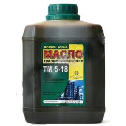 ТМ5-18, 85w90 GL-5, масло трансмиссионное, минеральное, 3л , г.Пермь