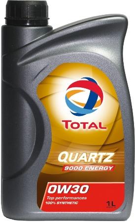 ТОТАL Quartz  9000, ENERGY, 0w-30, моторное масло, синтетика, 1л, Франция