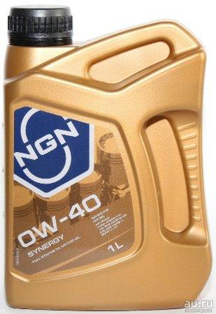 NGN, SYNERGY, 0W-40 SN/CF,  моторное масло, синтетика, 1л, Нидерланды