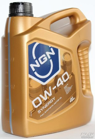 NGN, SYNERGY, 0W-40 SN/CF,  моторное масло, синтетика, 4л, Нидерланды